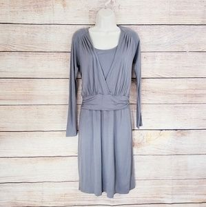 Zara Collection Taupe Dress